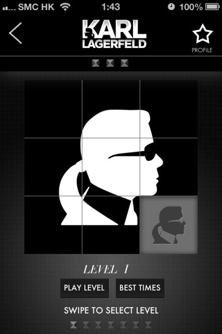 在KARLISMS找到老佛爺經典金句,在KOUNTDOWN挑戰新Game,透過FACEBOOK同TWITTER分享以上活動,每日每週都有即機會獲得各類型 Karl Lagerfeld限量產品!