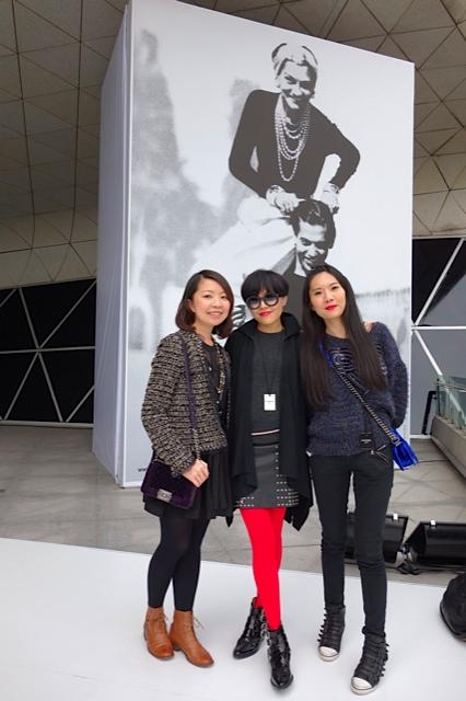 在此特別多謝Chanel公關Olga(右)和Ava(左)的邀請和細心安排的行程。